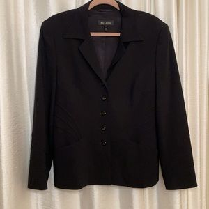 EUC Escada Size 12 Black Blazer